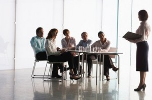Business People in Boardroom